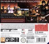 Samurai Warriors - Chronicles 3DS cover (A66P)