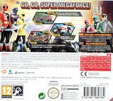 Power Rangers - Super Megaforce 3DS cover (BSSP)