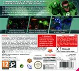 Green Lantern - Rise of the Manhunters pochette 3DS (AGLP)