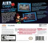 Alien Chaos 3D 3DS cover (AM2E)