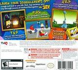 SpongeBob SquigglePants 3D 3DS cover (ASGE)