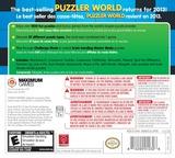 Puzzler World 2013 3DS cover (AZLE)