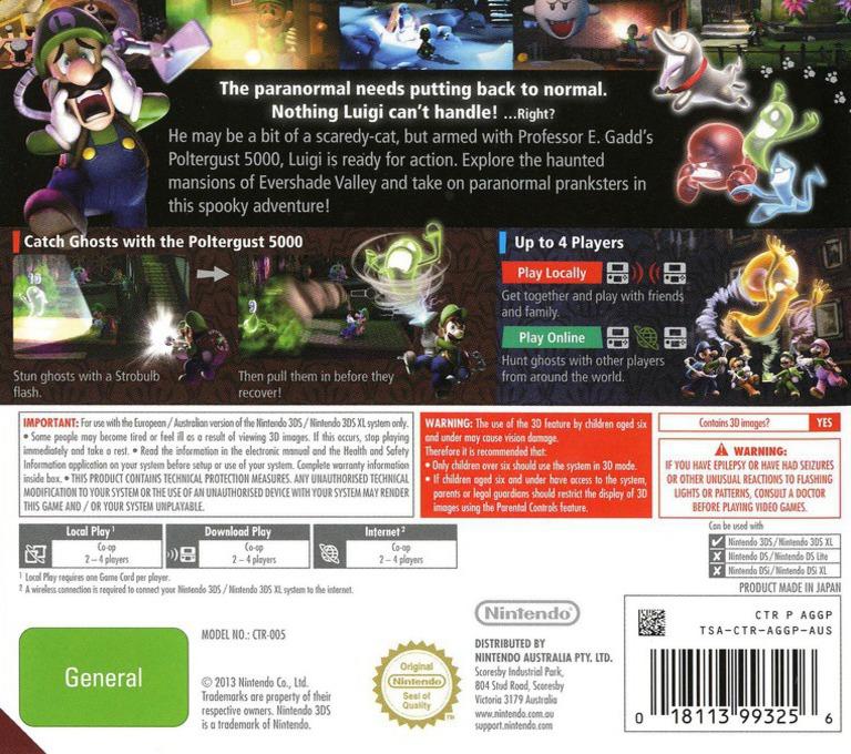Luigi's Mansion 2 3DS backHQ (AGGP)