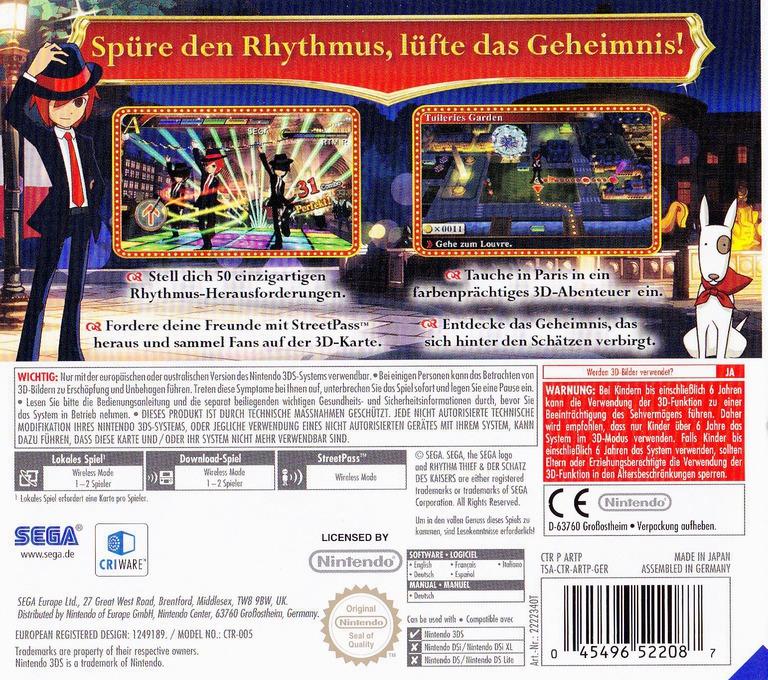 3DS backHQ (ARTP)