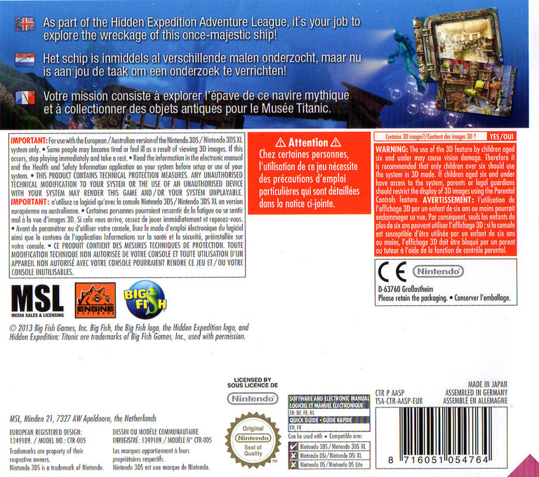 Hidden Expedition - Titanic 3DS backHQ (AASP)