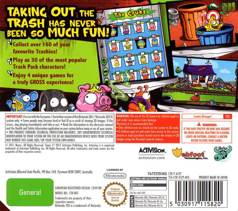 The Trash Pack 3DS backHQ (ATZP)