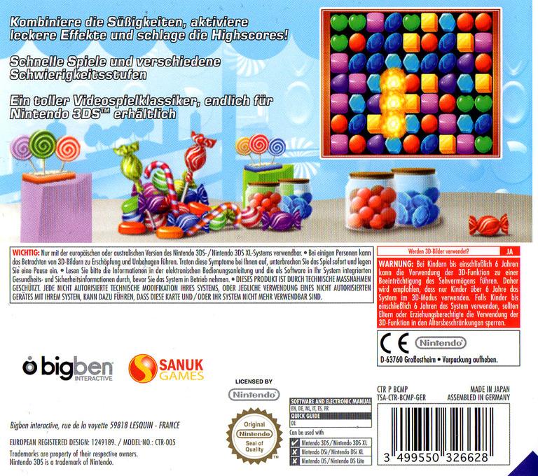 Candy Match 3 3DS backHQ (BCMP)