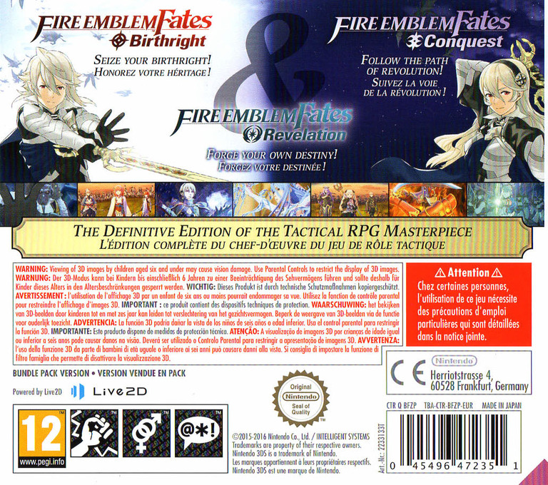 Fire Emblem Fates 3DS backHQ (BFZP)
