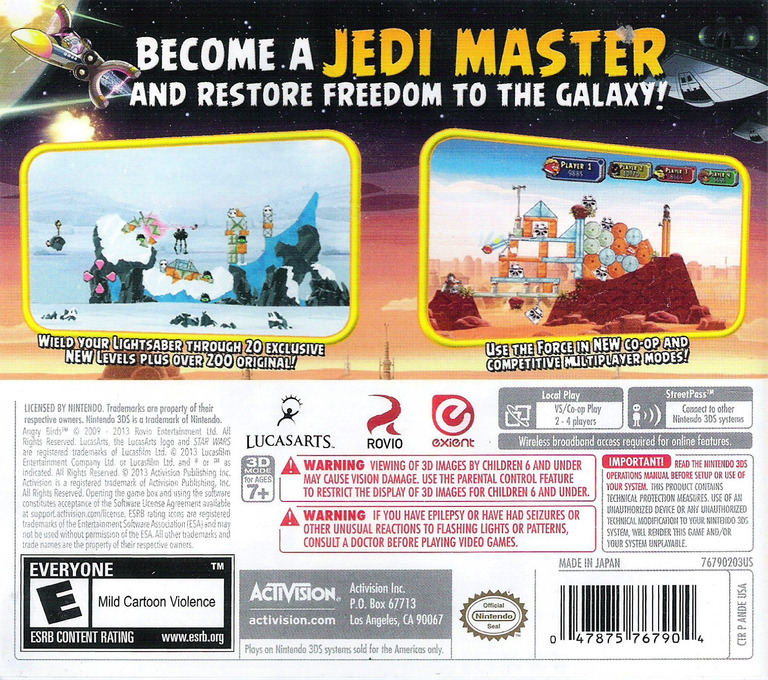 Angry Birds Star Wars 3DS backHQ (ANDE)