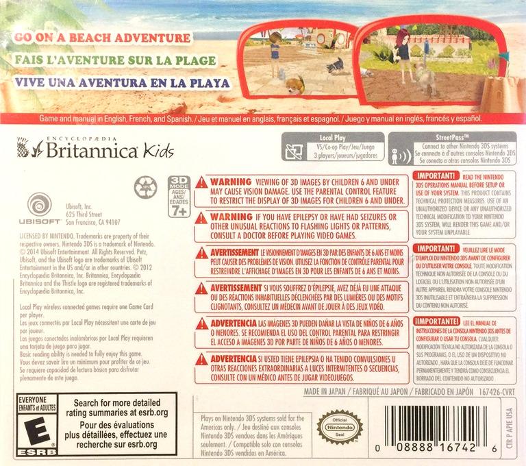 Petz Beach 3DS backHQ (APIE)