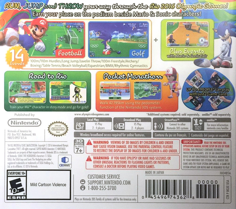 Mario & Sonic at the Rio 2016 Olympic Games 3DS backHQ (BGXE)