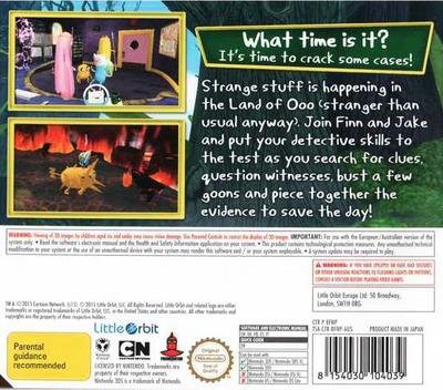 Adventure Time - Finn & Jake Investigations 3DS backM (BFNP)