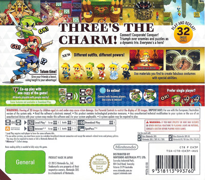 The Legend of Zelda - Tri Force Heroes 3DS backM (EA3P)