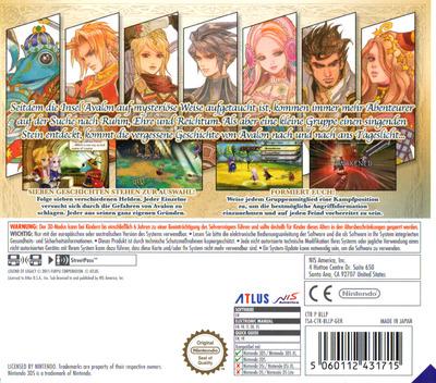 3DS backM (BLLP)