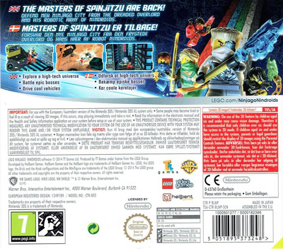 3DS backM (BLNP)