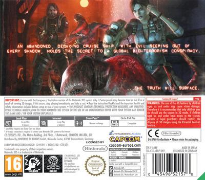 Resident Evil - Revelations 3DS backM (ABRP)
