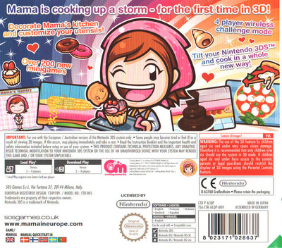 Cooking Mama 4 3DS backM (ACQP)
