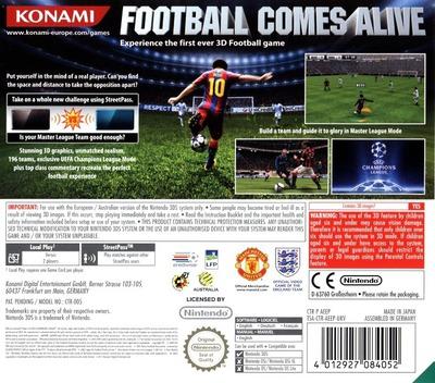 Pro Evolution Soccer 2011 3D 3DS backM (AEEP)