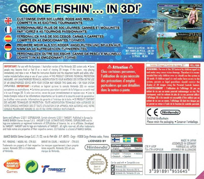 Angler's Club - Ultimate Bass Fishing 3D 3DS backM (AFDP)