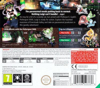 Luigi's Mansion 2 3DS backM (AGGP)