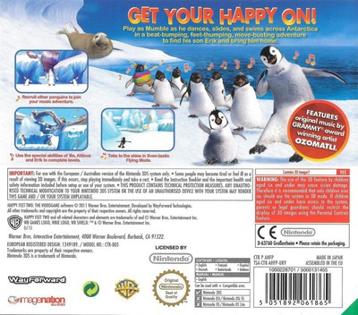 Happy Feet 2 3DS backM (AHFP)