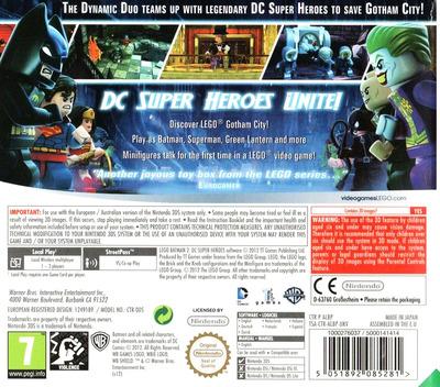 LEGO Batman 2 - DC Super Heroes 3DS backM (ALBP)