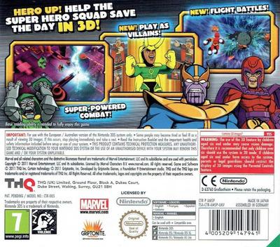 Marvel Super Hero Squad - The Infinity Gauntlet 3DS backM (AMSP)