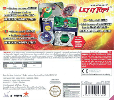 Beyblade - Evolution 3DS backM (ARXP)
