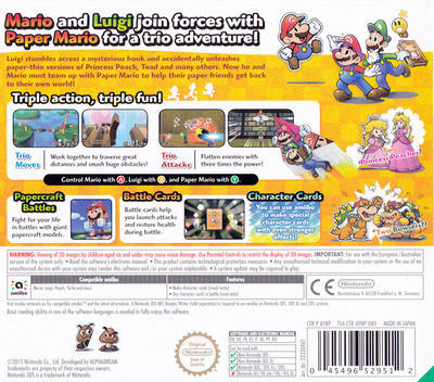 Mario & Luigi - Paper Jam Bros. 3DS backM (AYNP)