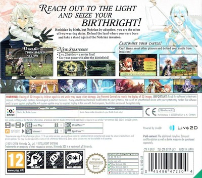Fire Emblem Fates - Birthright 3DS backM (BFXP)