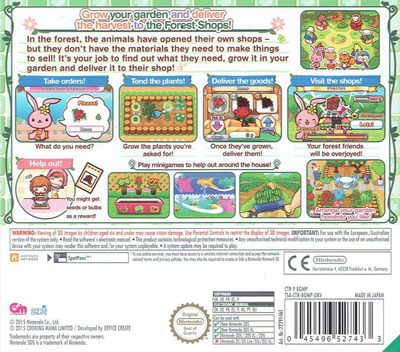 Gardening Mama - Forest Friends Array backM (BGMP)