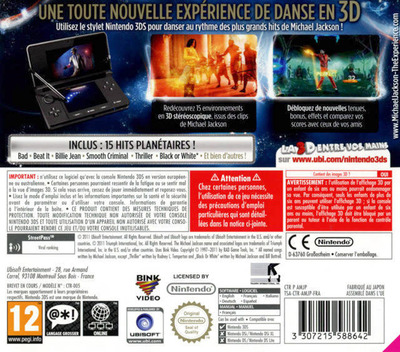 3DS backM (AMJP)