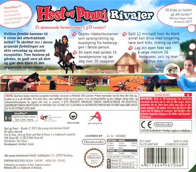 Hest og Ponni - Rivaler 3DS backM (AMUP)