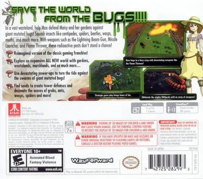 Centipede - Infestation 3DS backM (ACPE)