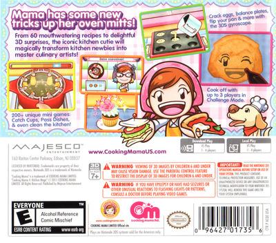 Cooking Mama 4 - Kitchen Magic 3DS backM (ACQE)