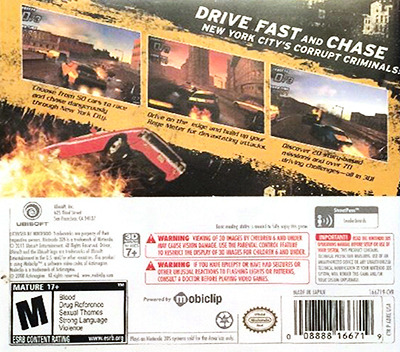 Driver - Renegade 3DS backM (ADRE)