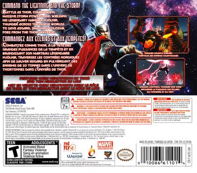 Thor - God of Thunder 3DS backM (AGTE)