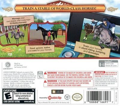 Horses 3D 3DS backM (AHSE)