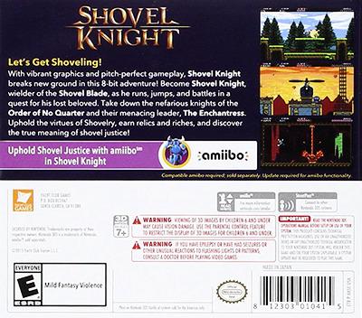 Shovel Knight 3DS backM (AKSE)
