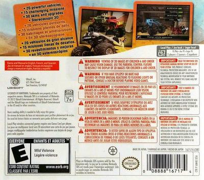Monster 4x4 3D 3DS backM (AM4E)