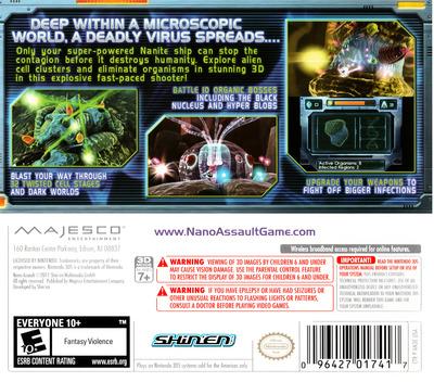 Nano Assault 3DS backM (AN3E)