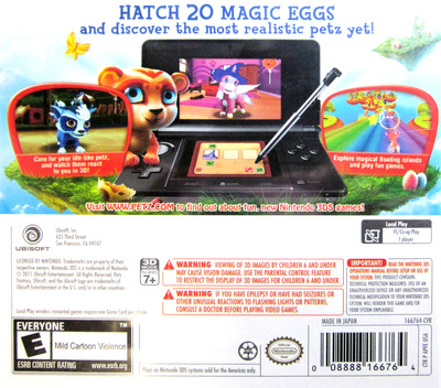Petz Fantasy 3D 3DS backM (APFE)