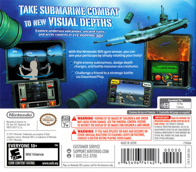 Steel Diver 3DS backM (ASDE)