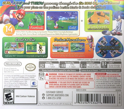 Mario & Sonic at the Rio 2016 Olympic Games 3DS backM (BGXE)