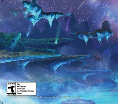 Xenoblade Chronicles 3D 3DS backM2 (CAFE)