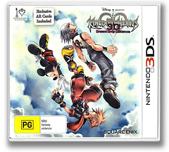 Kingdom Hearts 3D - Dream Drop Distance 3DS cover (AKHP)