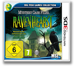 Mystery Case Files - Ravenhearst 3DS cover (AAQP)