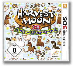 Harvest Moon 3D - A New Beginning 3DS cover (ABQP)