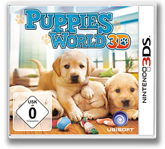 Puppies World 3D 3DS cover (ACTP)
