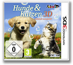 Cats & Dogs - Pets at Play 3DS cover (AHUP)